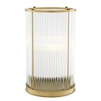 Windlicht 'Mayson M' - Antique Brass