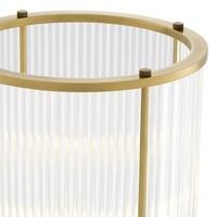 Windlicht 'Mayson S' - Antique Brass