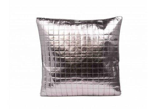 Dome Deco Cushion Nell Silver