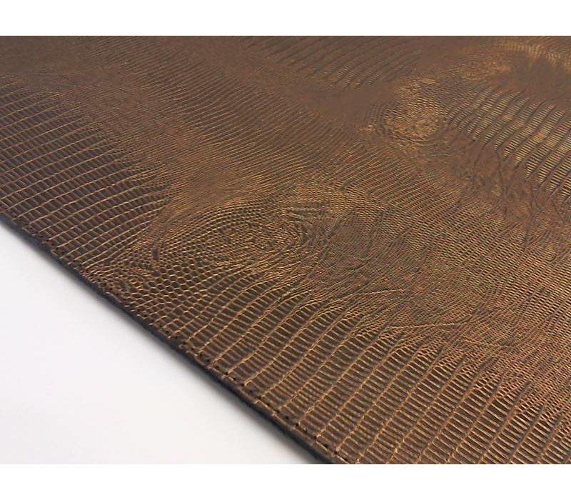 Onderzetters 'Lizard' in de kleur Bronze - Set van 6 stuks