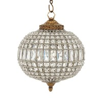 The pendant lamp Kasbah Oval S ø 38 x H. 45 cm