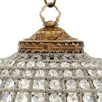 Hanglamp Kasbah Oval S van het Nederlandse merk Eichholtz, maat ø 52 x H. 52 cm - Copy