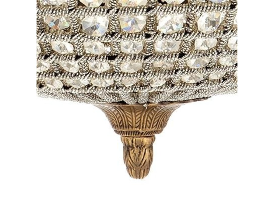 Hanglamp Kasbah Oval M van het Nederlandse merk Eichholtz, maat ø 52 x H. 52 cm