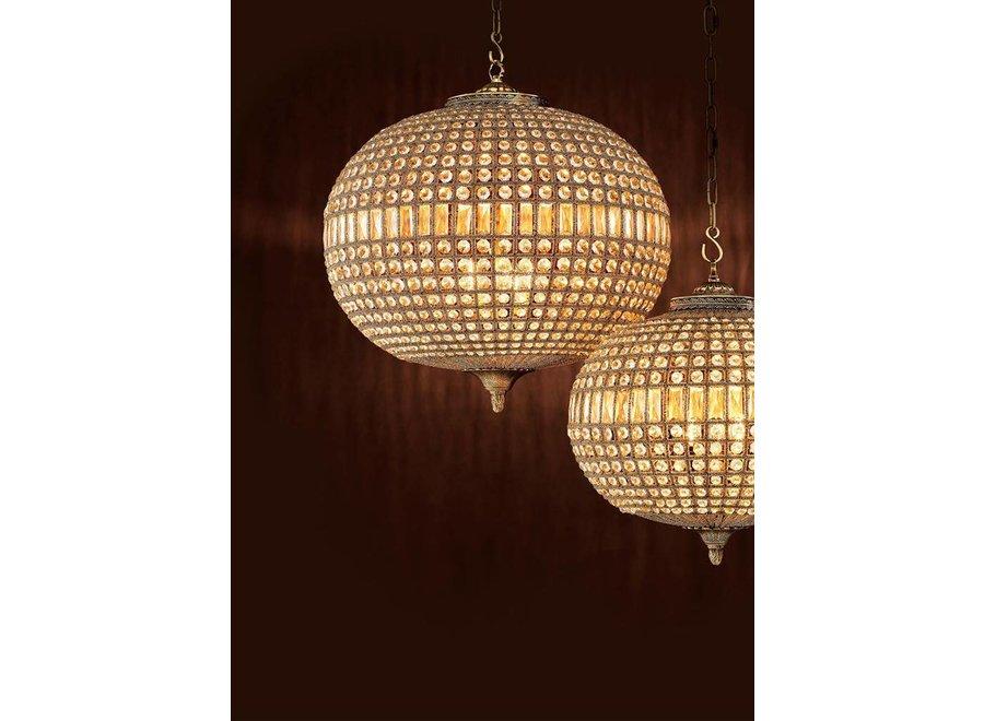 Hanglamp Kasbah Oval L  ø 70 x H. 70 cm