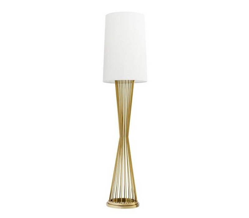 Floor Lamp 'Holmes' Gold