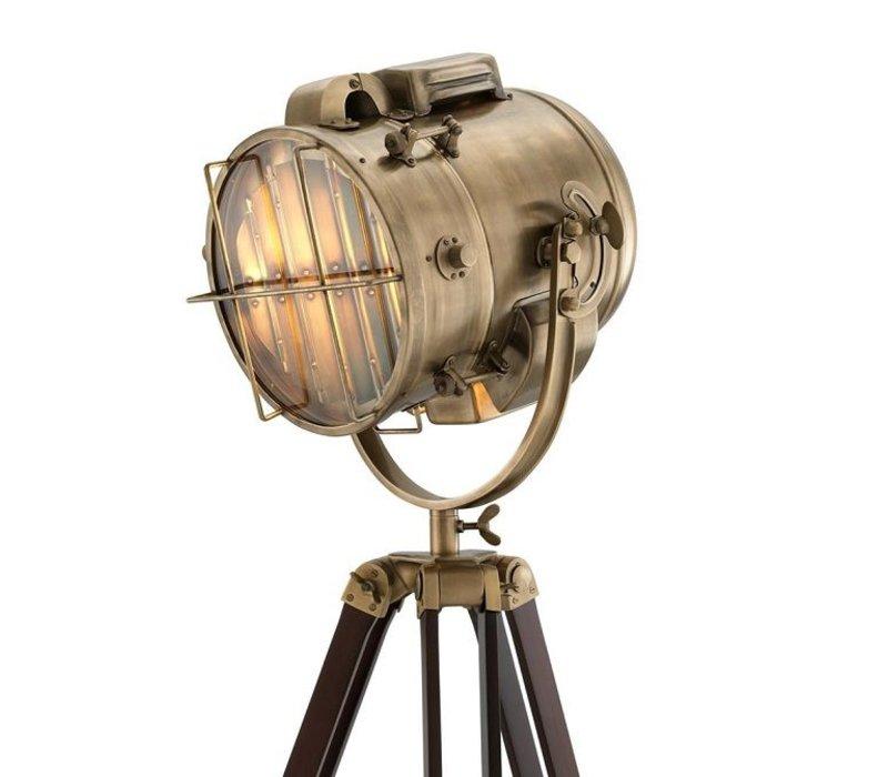Vloerlamp 'Atlantic' Brown