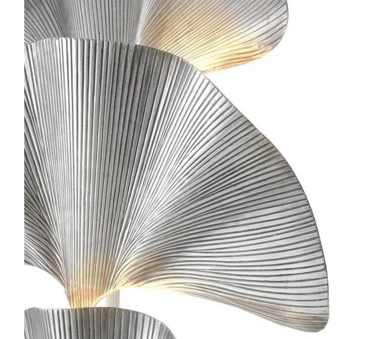 Stehlampe 'Las Palmas' Mattes Silber