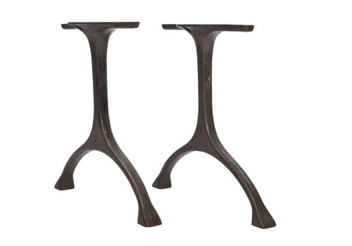 NORR11 Table legs  'Maiden' Iron/Tall Raw