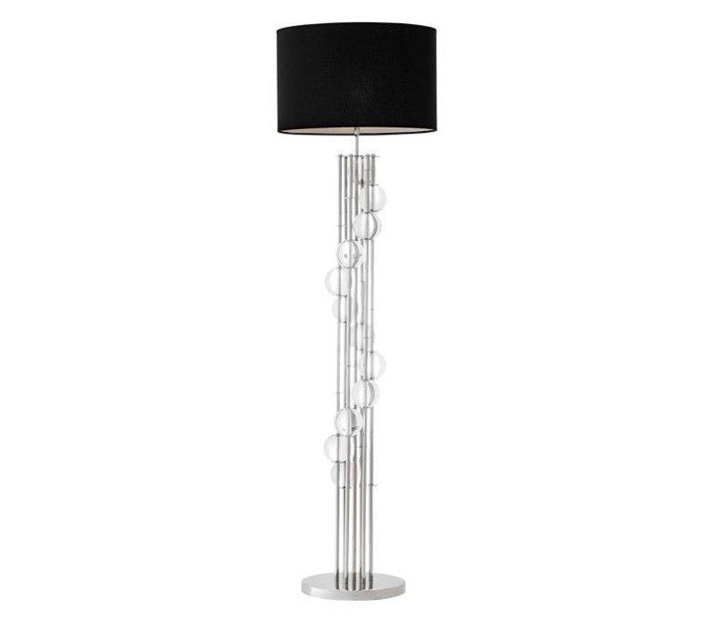 Floor Lamp 'Lorenzo' Silver