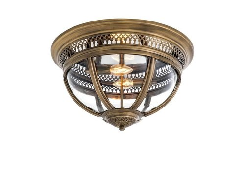 EICHHOLTZ Ceiling Lamp 'Residential' Antique Brass