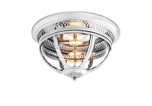 EICHHOLTZ Ceiling Lamp 'Residential' Nickel