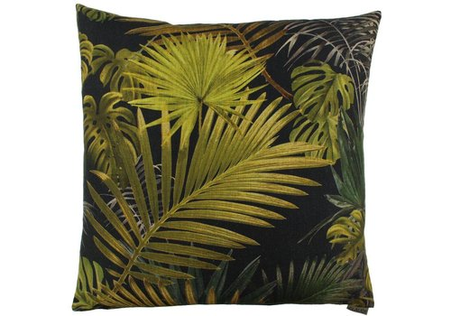 CLAUDI Cushion Fortunata Olive Black