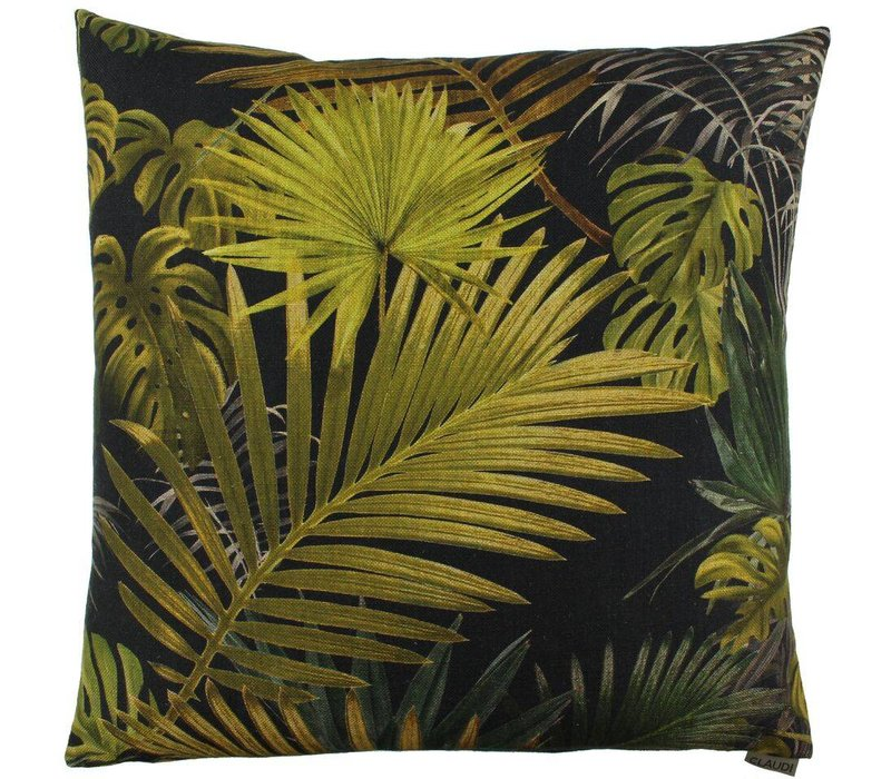 Cushion Fortunata color Olive Black