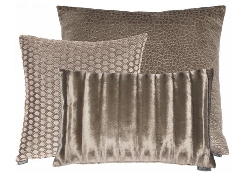 CLAUDI Chique Cushion combination Brown: Biagio, Sergio & Ottavia