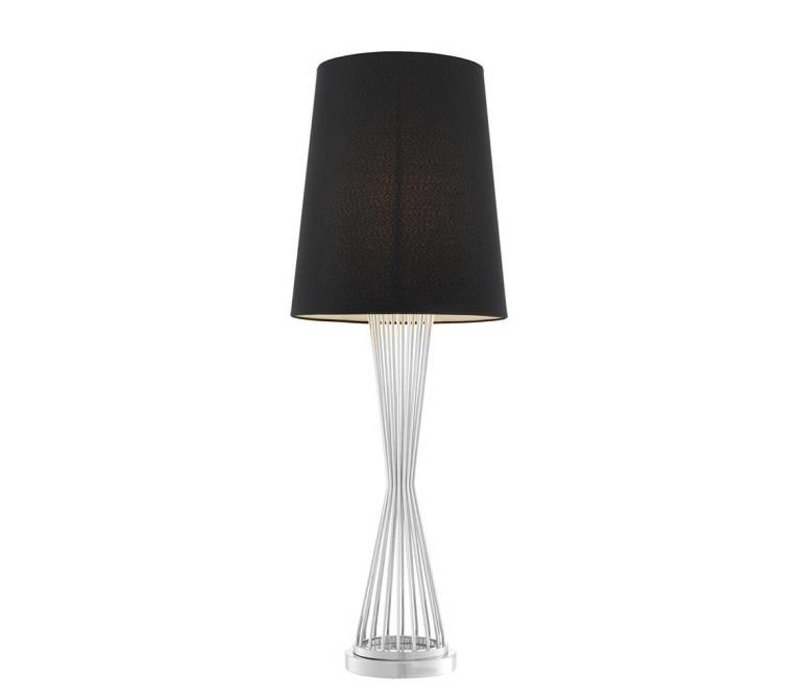 Table Lamp 'Holmes' Silver