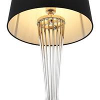 Tischlampe 'Holmes' Silber
