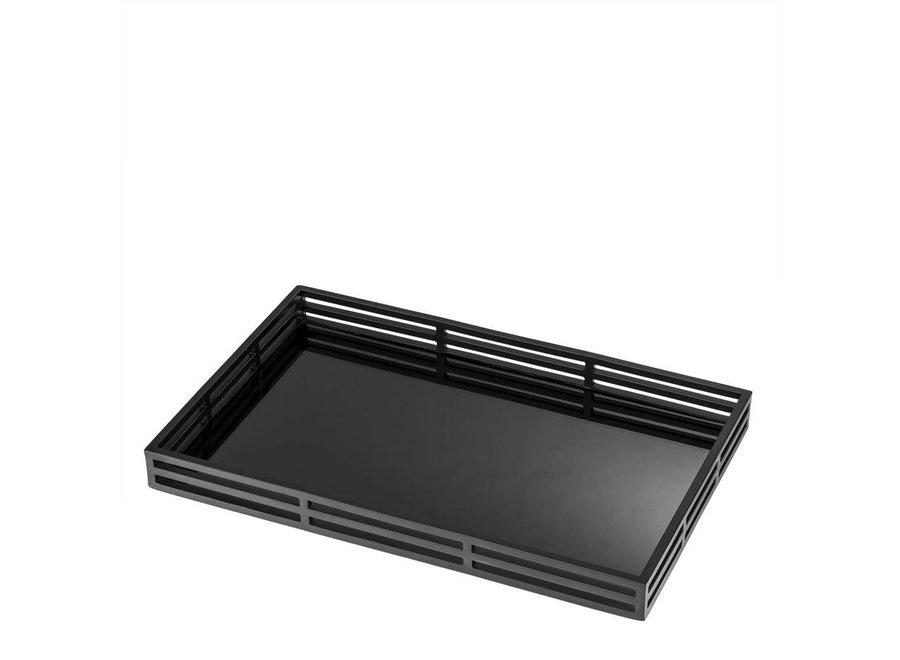 Dienblad 'Giacomo'  kleur zwart