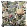 CLAUDI Cushion Flamingo  color Olive