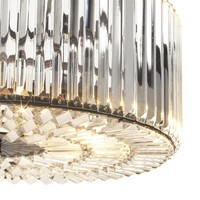 Chandelier Infinity 'gunmetal finish' diameter 53cm