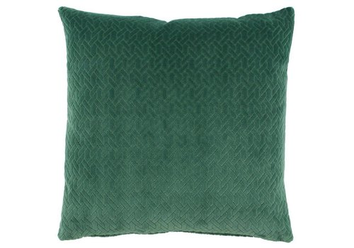 CLAUDI Design Kissen Steyn Emerald