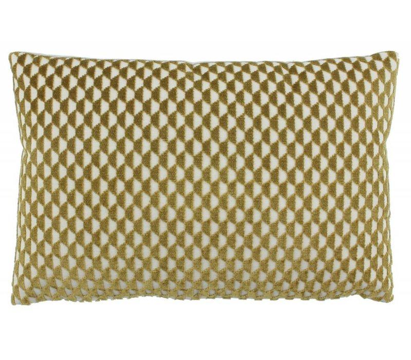 Cushion Patricia color Mustard