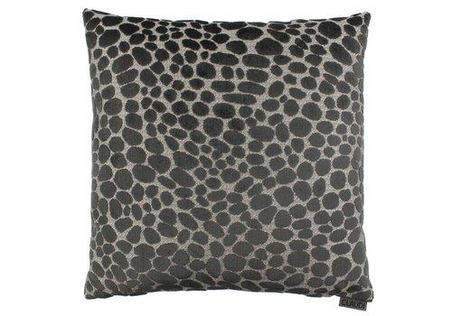 CLAUDI CushionPasqualle Dark Taupe