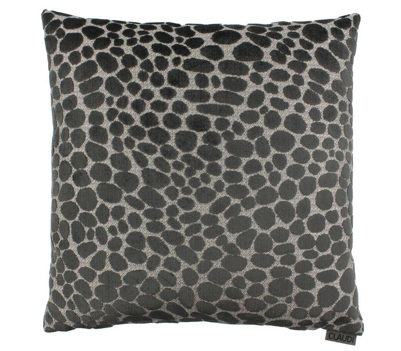 Cushion Pasqualle in color Dark Taupe