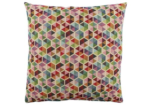 CLAUDI Design Cushion Akasma Multicolor