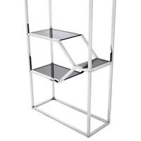 Cabinet Myconian ist 230cm hoch und gemacht aus Hochglanz Stahl.