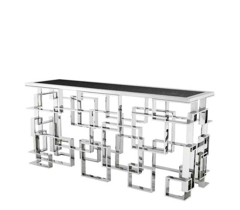 Glass Console table 'Spectre' 150 x 60 x H. 76 cm