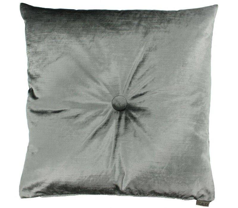 Cushion Gavino in color Grey Mint