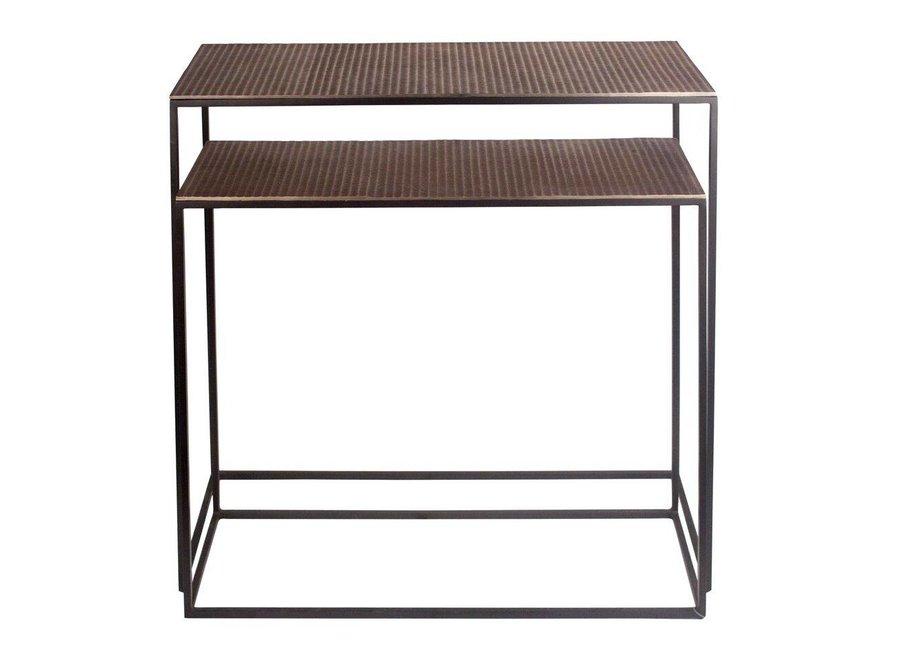 Console tafel Bronze - set van 2