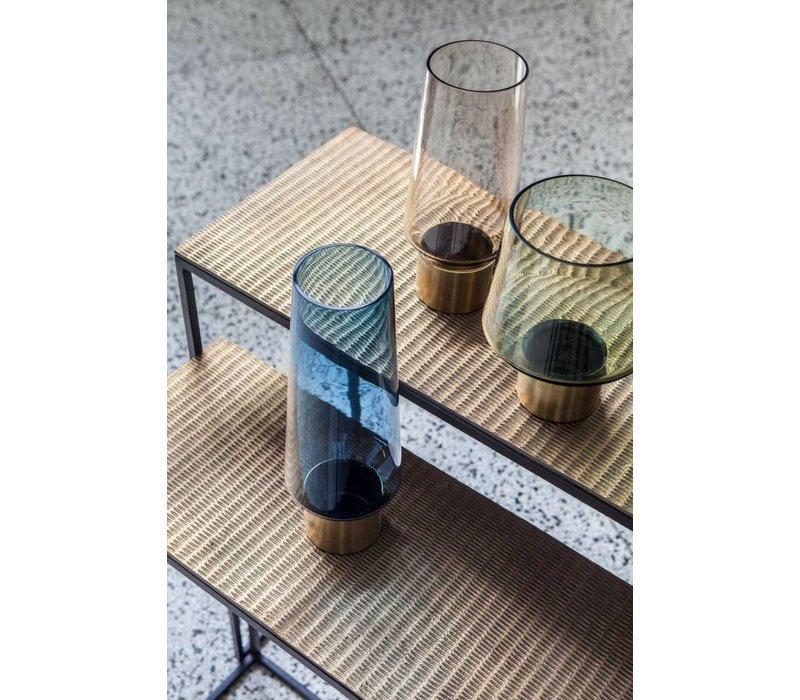 Console tafel in de kleur Bronze - set van 2