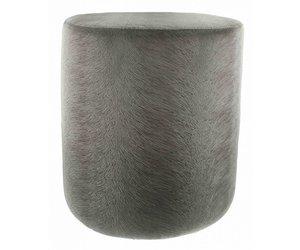 Wonderbaar Poef Claudi - Perla Grey - Wilhelmina Designs KF-31