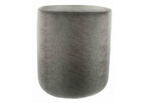 CLAUDI Pouf Perla Grey - Small