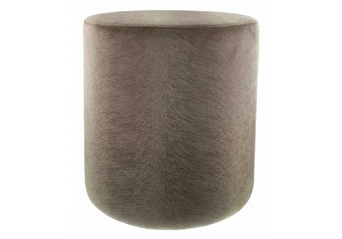 CLAUDI Pouf Perla Brown - Small