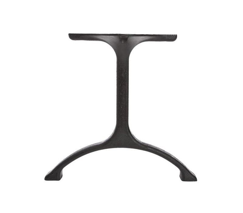 Table legs  'Maiden' Iron/Tall Matt Black
