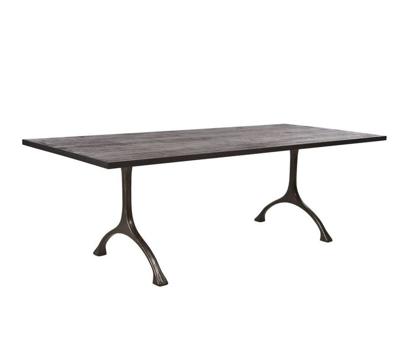 Table legs  'Maiden' Iron/Tall Raw