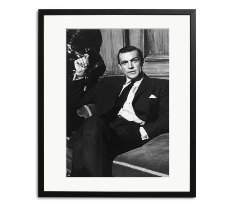 Sean Conner in Woman of Straw black and white picture in frame