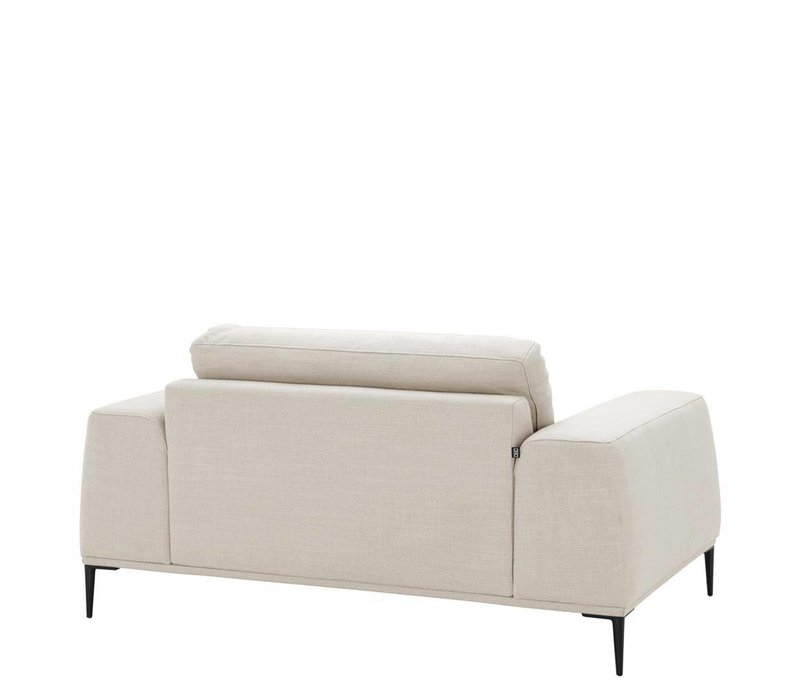 Loveseat 'Montado' Panama Natural