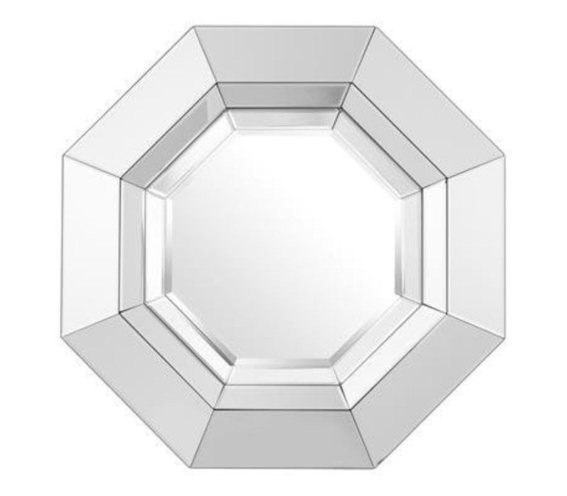 Design spiegel 'Chartier' 68x68cm