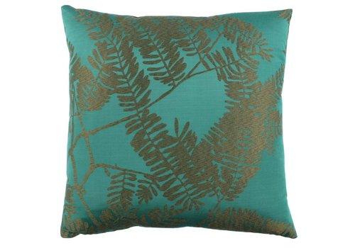 CLAUDI Design Cushion Elin Emerald