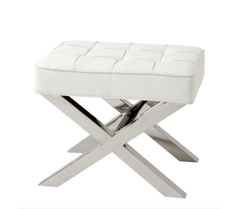 Hocker Weiß Wilhelmina Designs