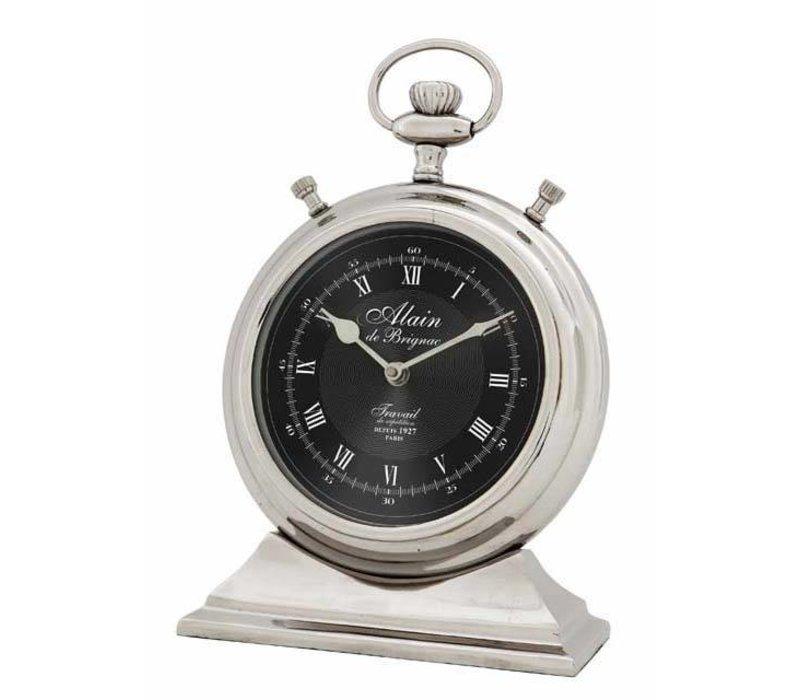 Desk clock 'Alain'S  in classic style 20 cm