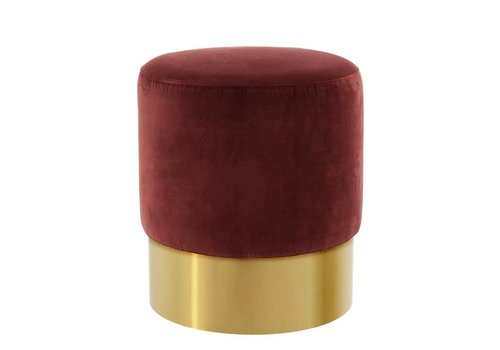 EICHHOLTZ Stool Pall Mall Red