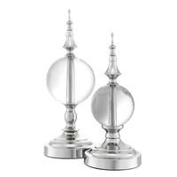 Decoration object 'Zamora' set of 2