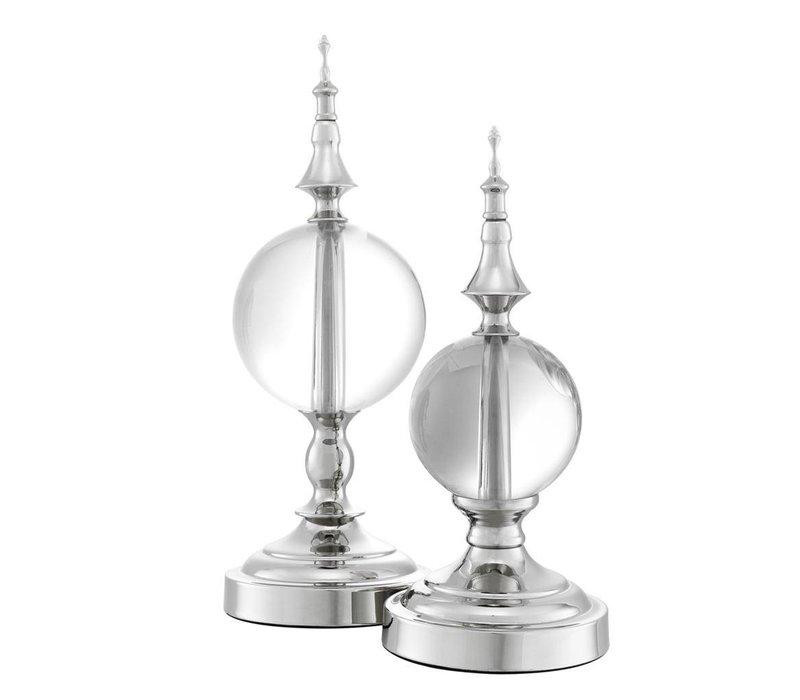 Decoractie object 'Zamora' set van 2