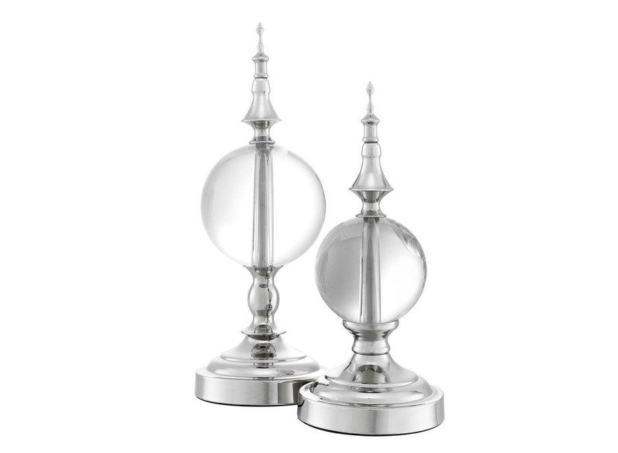 Decoratie object 'Zamora' set van 2