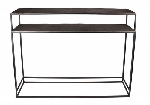 Dome Deco Console table Bronze  / 2 colors - set of 2