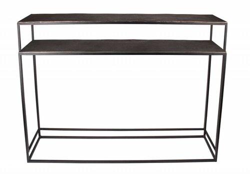 Dome Deco Console tafel Bronze / 2 kleuren - set van 2